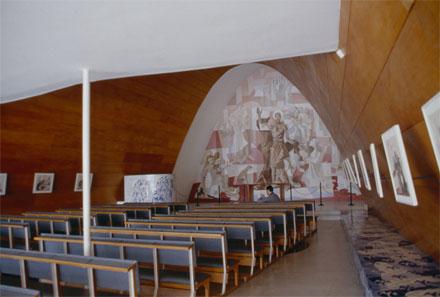 Niemeyer, Iglesia de San Francisco de Asís. Foto: Louise Noelle