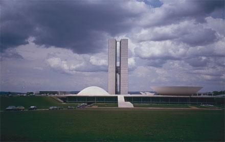 Niemeyer, Palacio Legislativo, Brasilia. Foto: Louise Noelle.