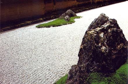 Rock garden, templo Ryoanji