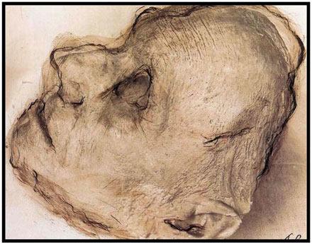 Rainer, Totenmaskenübermalung (Franz Liszt)