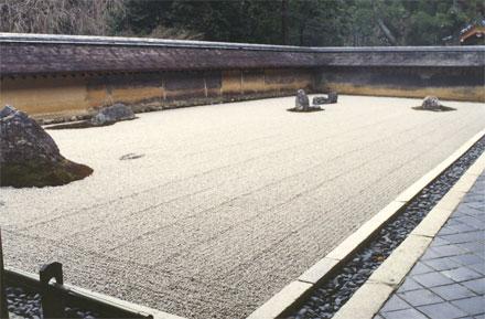 Jardín de piedra, Ryoanji. Foto: Octavio Ortiz