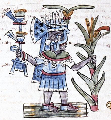Tlaloc. Codex Magliabechiane